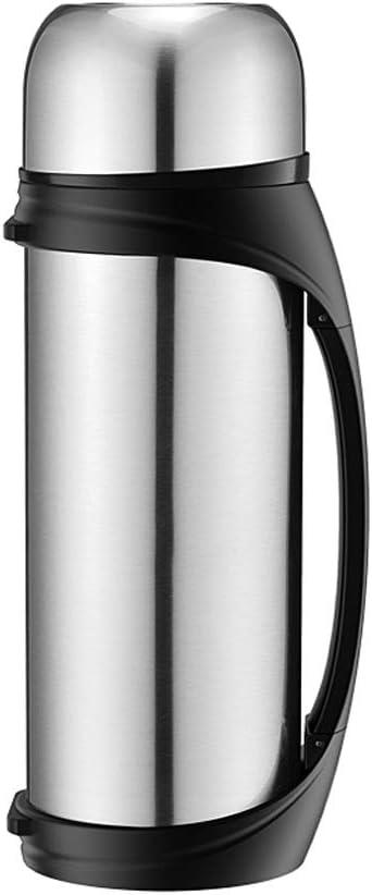 ステンレススチール 断熱ポット/家庭用 アウトドア 温水ボトル/ポータブル 大容量 ケトル 断熱カップ (4色オプション) (カラー:レッド)