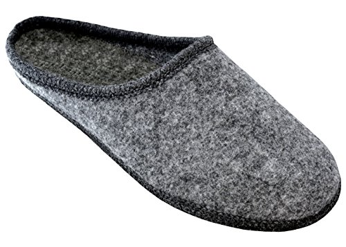 Beige Unisex Scarpe Leggere Comodo Feltro Grigio Da 46 Casa 36 Ciabatte Becomfy Pantofole Suola Rosso Fu01 Di Donna Uomo Antiscivolo axzq0