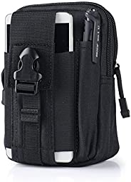 SunTrade Tactical Molle Pouch Belt Military Hiking Camp Phone Pocket Waist Fanny Bags