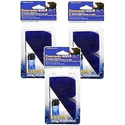 Penn Plax Cascade 400 Internal Filter Replacement Cartridges (6-Pack Carbon Cartridge)