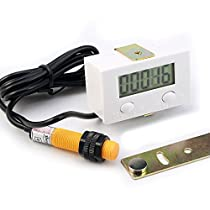 GERI LCD Punch Counter Digital 5 Digit Proximity Switch and Strong Magnetic New