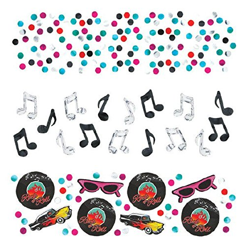 50's Value Pack Party Confetti, 1.2 -