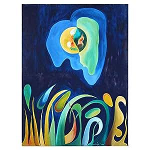 GrandUAE Canvas Multi Color Painting - Modern