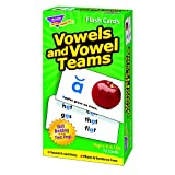 TREND ENTERPRISES INC. FLASH CARDS VOWELS & VOWEL TEAMS (Set of 12)