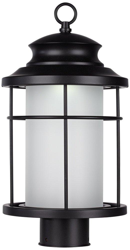 Warburton 16 1/2'' High Black LED Outdoor Post Light