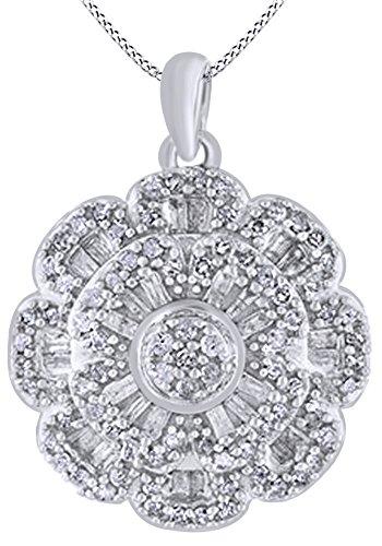 0.75 Ct Diamond Necklace - 9