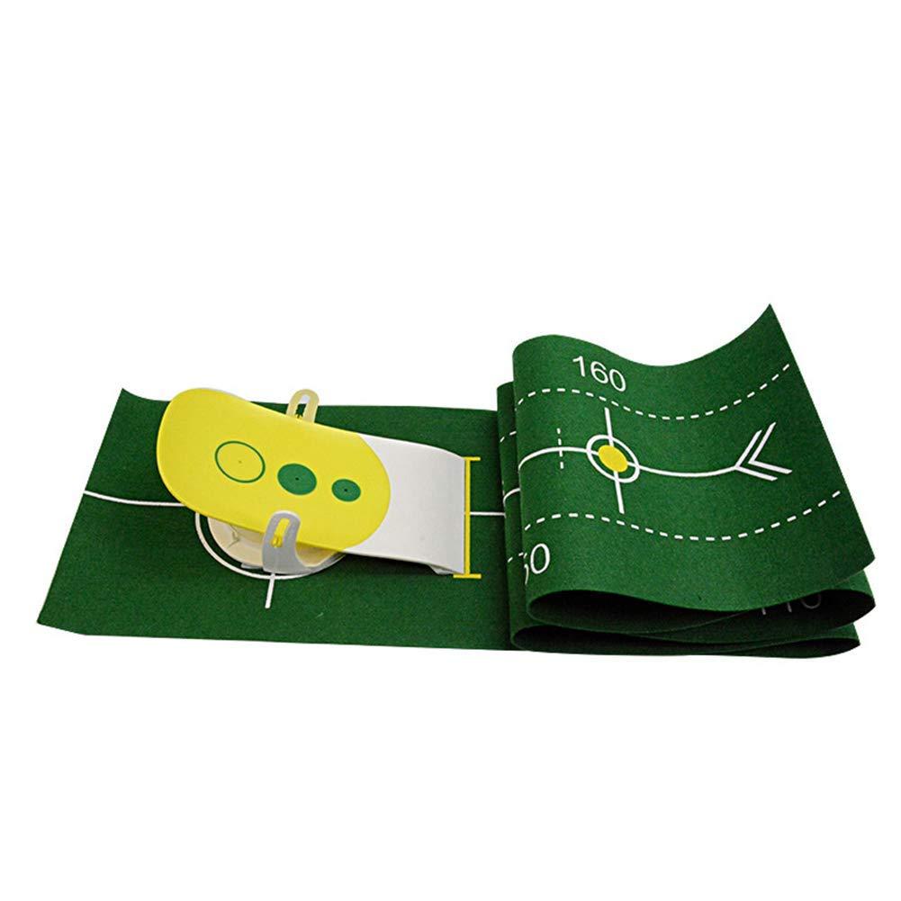 ゴルフパッティングトレーナー/精密パッティングトレーナー/楽しいパッティングトレーナー B07K795D46/トレーニング機器/グリーン B07K795D46, 文化堂印刷:0207a84e --- cooleycoastrun.com