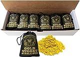 Buffalo Bills Gold Nugget Bubble Gum 15-Ct Boxes (15 black 2oz burlap bags of gold nugget gum) offers