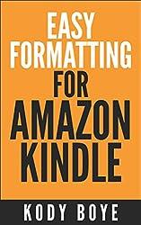 Easy Formatting for Amazon Kindle