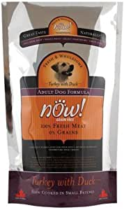 Now! Dry Dog Food, Grain Free Turkey And Duck Formula, Adult, 6-Pound Bag