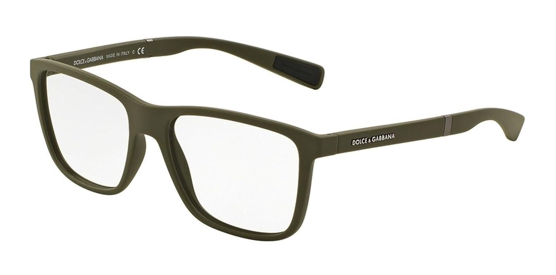ca7a825c4e1 Amazon.com  Dolce Gabbana DG5016 Eyeglass Frames 3011-54 - Military Rubber  DG5016-3011-54  Clothing