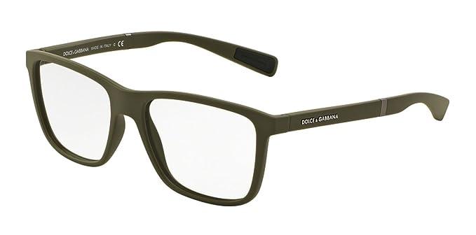 af0b5207704f Dolce Gabbana DG5016 Eyeglass Frames 3011-54 - Military Rubber  DG5016-3011-54