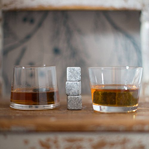 Whiskey-Stones-Yummy-Sam-Reusable-Ice-Stone-Chilling-Rocks-Cubes-in-Gift-Box-with-Carrying-Pouch-Set-of-9-for-Whiskey-Bourbon-Wine-or-Other-Spirits