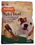 Nylabone Nutri Dent Good Puppy, Bacon and Cheese Flavor, 28 Count Pouch, My Pet Supplies