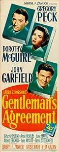 Pacto de caballeros dípticas 14 x 36 en Póster de película - 36 cm x 92 cm Gregory Peck Dorothy McGuire John Garfield Celeste Holm Anne venera Junio boio