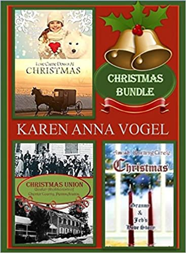 Christmas Bundle ~Love Came Down at Christmas ~Christmas Union~ Amish Knitting Circle Christmas