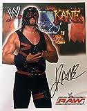 WWE KANE Autographed 8x10 Photo, Early 2000's