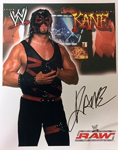 WWE KANE Autographed 8x10 Photo, Early 2000's