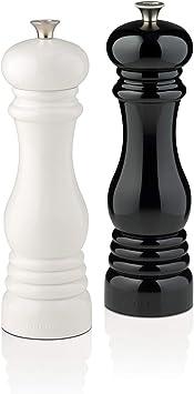 Le Creuset Macinino Pepe 6.2 x 6.2 x 20.8 cm Plastica ABS Arancio Macina in Ceramica