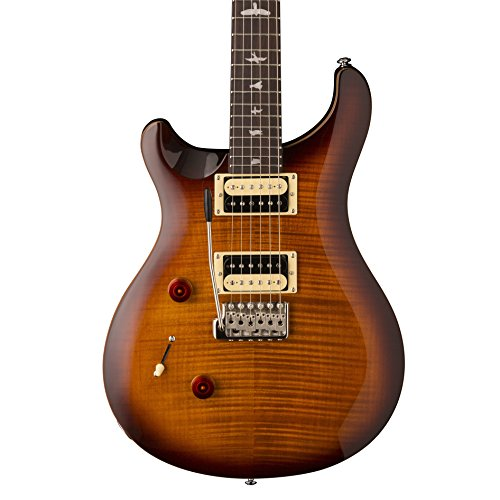 Maple Top Tobacco Sunburst - PRS Paul Reed Smith SE Custom 24 Left-Handed Electric Guitar with Gig Bag, Tobacco Sunburst