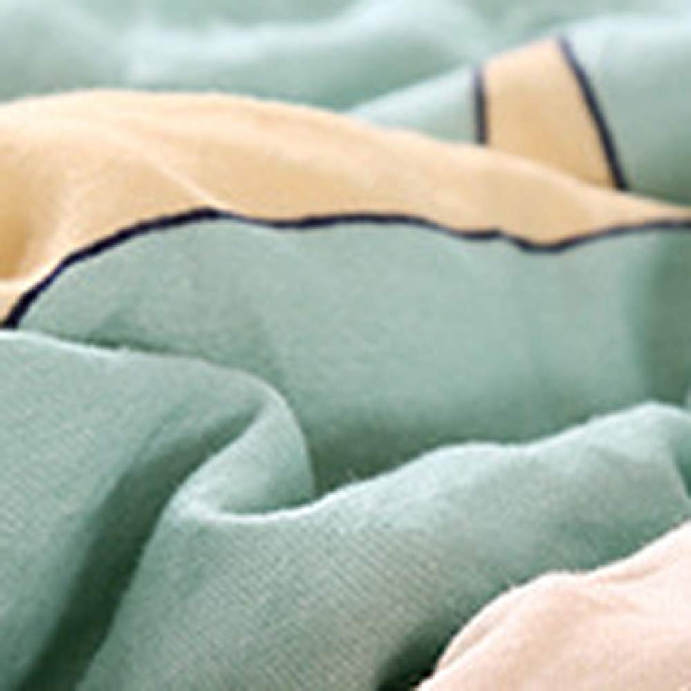 Danhjin Blanket with Sleeves and Pockets, Super Soft Home Adults Wearable Throw Robe (A) by Danhjin (Image #7)