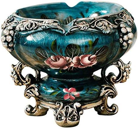 灰皿 , ヨーロッパのレトロ灰皿の家のリビングルームの豪華な装飾性の創造的なオフィスのデスクトップ灰皿のコーヒーテーブルの宝石