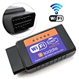 can bus adapter - iSaddle WIFI Wireless OBD2 OBDII Scan Tool Auto Scanner Adapter Check Engine Light & CAN-BUS Auto Diagnostic Tool for Windows & Android Torque & iOS iPhone iPad iPod