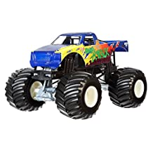 Hot Wheels Monster Jam 1:24 Scale Rap Attack Vehicle
