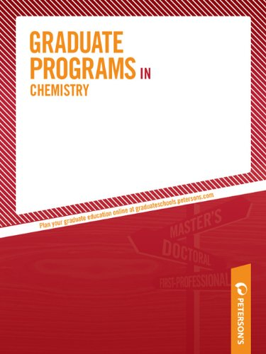 Graduate Programs in Chemistry