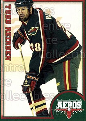 (CI) Todd Reirden Hockey Card 2004-05 Houston Aeros 14 Todd Reirden