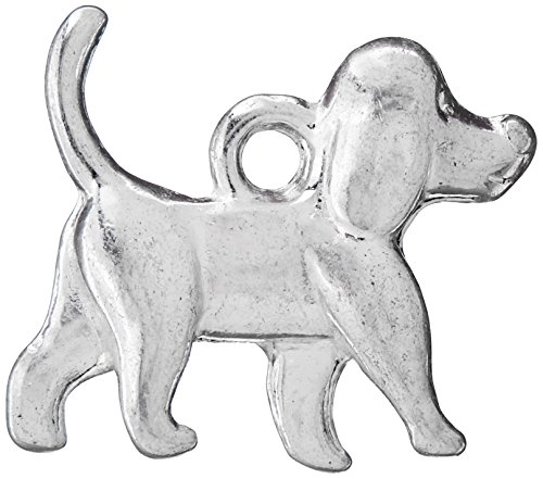 Housweety Pendants Animal Silver 16x15mm