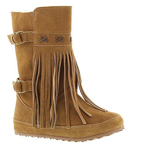 Bearpaw Womens Krystal Pull On Boot Hickory Ii Suede Us 7 M