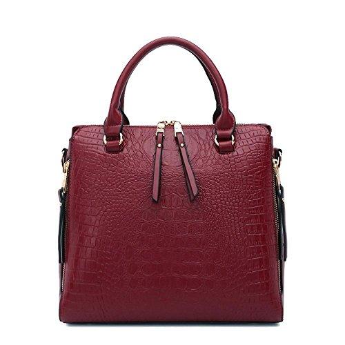 shoulder bag cross C diagonal single Zhiming Handbag pack crocodile Female tattoo bag purse 1WTFqHUw