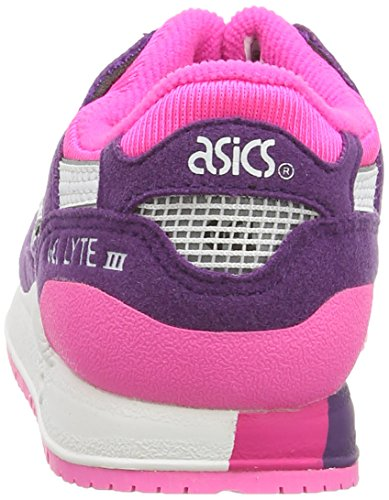 purple white Morado Asics Iii Ps Gel Infantil Zapatillas lyte 3301 n0q0Hxp1