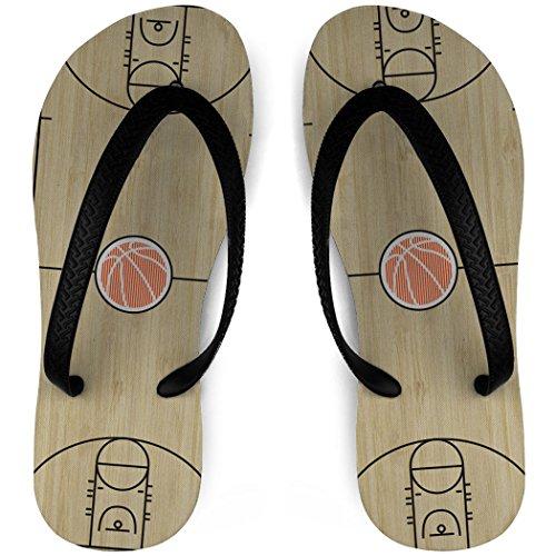 Basketball Court Flip Flops