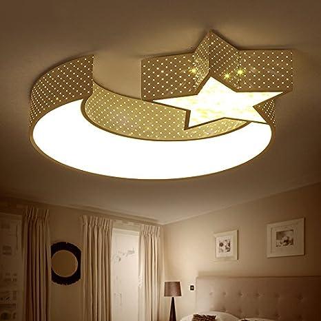 LED lámpara de techo para los niños creativos niños y niñas ...