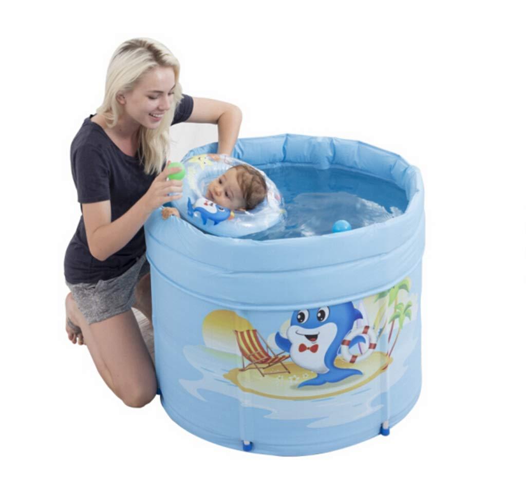 LYX® Aufblasbare Badewanne, Babybadewanne Familienpool Isolationslegierung Unterstützung gesteppte Kindbadewanne Kindbadewanne Kindbadewanne Babybadewanne Badewanne Schwimmbad 8682b1
