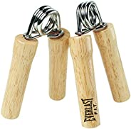 Everlast Extra Strength Hand Grips - Wood