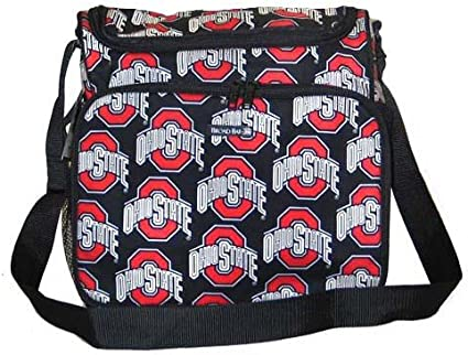 Amazon Com Osu Ohio State Buckeyes Diaper Bag Designer Baby Bags Shower Gifts For New Mom Or Dad Or Man Men Woman Women Ladies Alumni Diaper Tote Bags Sports Outdoors
