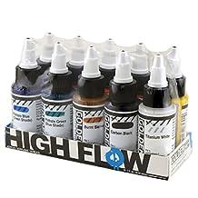 Golden High Flow Acrylic Set 10-Color 1 oz. Assorted Set