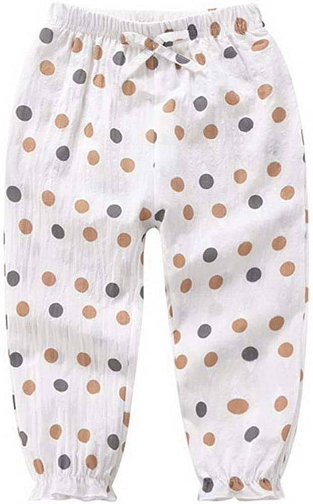 Beige Bottom and Dots Comfortable Soft Childrens Trousers