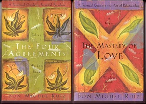 Don Miguel Ruiz Toltec Wisdom Books The Four Agreements The