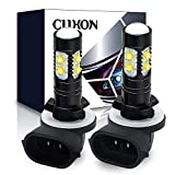 CIIHON 881 LED Fog Light Bulb CREE 886 896 50W 3535SMD White 6000K 1600 Lumens DRL Driving Fog Lights Bulbs 894 862 888 Replacement Pack of 2, 1 Year Warranty
