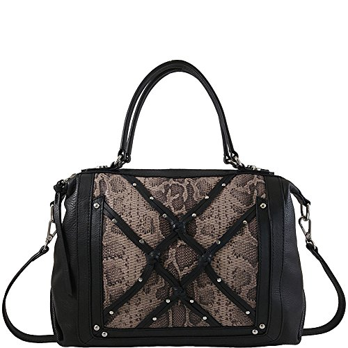 joelle-hawkens-by-treesje-isabel-satchel-with-snake-black-multi