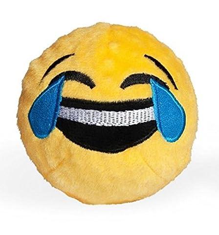 Fab Dog crying/Laughing Emoji Faball Dog Toy, Medium (Laughing Dog Ball)