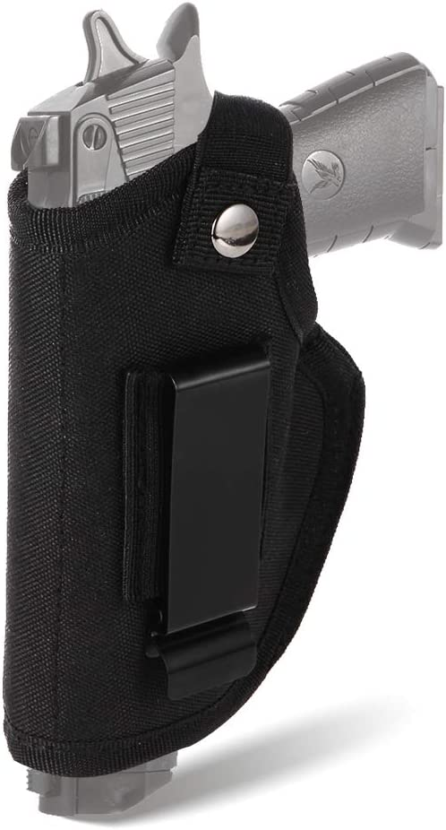 Details about  /Tactical Belt Holster with Mag Pouch Universal Outside The Waistband Holster NEW