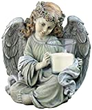 NapCo Angel Statue with Candleholder, 10″ Review