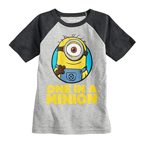 Jumping Beans Boys 4-10 Despicable Me Minion Raglan