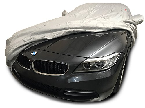 CarsCover Custom Fit 2006-2016 BMW Z4 Roadster Car Cover Heavy Duty Weatherproof Ultrashield Covers (Gray)