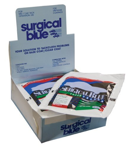 Surgical Blue Premium Tack Rags - 12 Pack (Made in USA) Datco 144